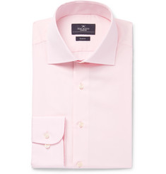 Hackett Light-Pink Mayfair Slim-Fit Cotton-Poplin Shirt