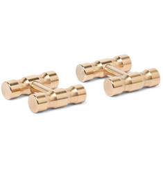 Alice Made This - Lapworth Gold-Tone Cufflinks