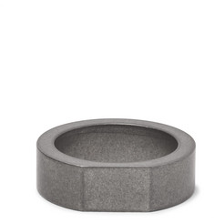 Alice Made This Bacchus Brushed-Steel Signet Ring