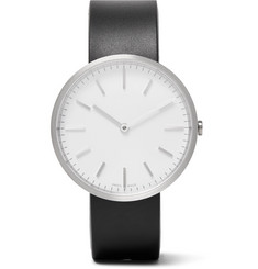 Uniform Wares - M37 Brushed Stainless Steel and Rubber Watch