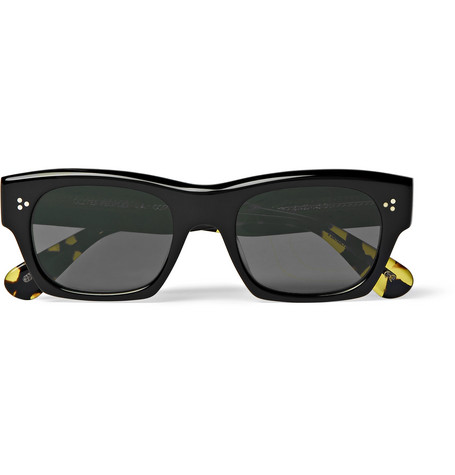 Isba Square Frame Acetate Sunglasses by Oliver Peoples