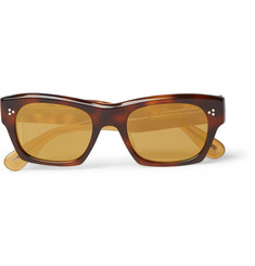 Oliver Peoples Isba Square-Frame Acetate Sunglasses