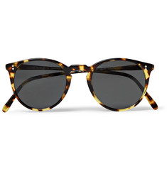 Oliver Peoples - O'Malley Round-Frame Tortoiseshell Acetate Polarised Sunglasses