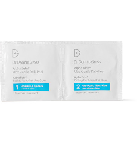 DR. DENNIS GROSS SKINCARE ALPHA BETA ULTRA GENTLE DAILY PEEL, 30 X 15ML