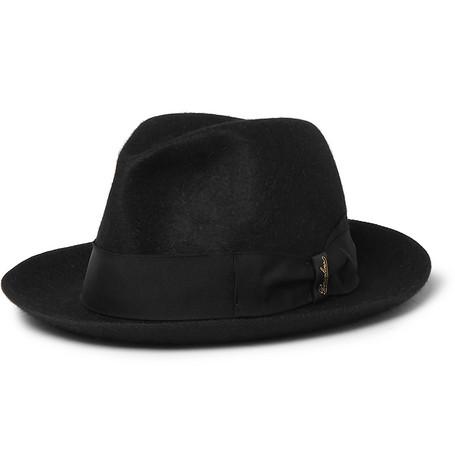 5b55eeddacb0b6 Borsalino - Traveller Rabbit-Felt Hat