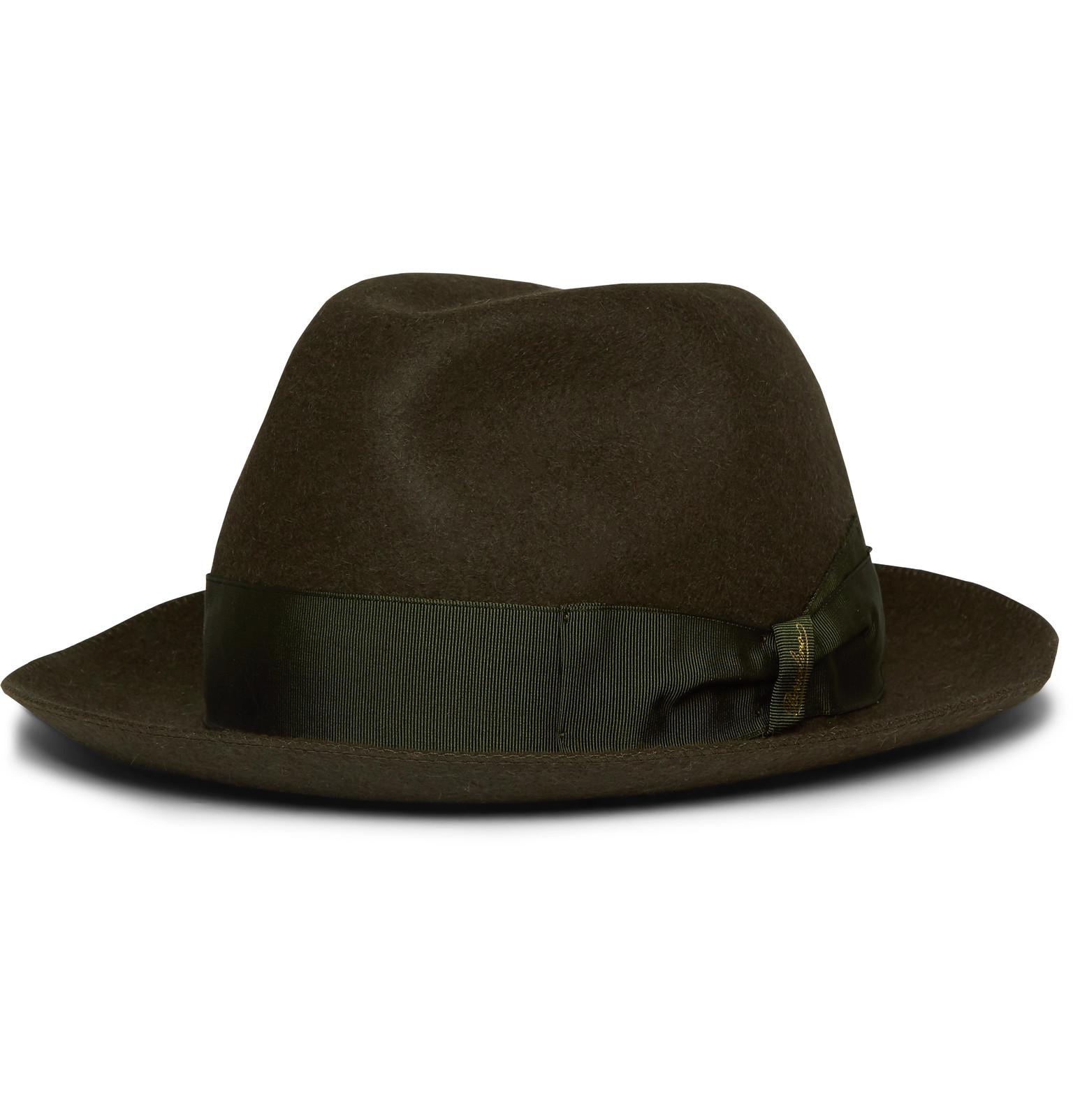 0e4c8efdc65 Borsalino - Traveller Rabbit-Felt Hat