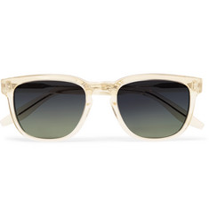 Barton Perreira Coltrane Square-Frame Acetate Polarised Sunglasses