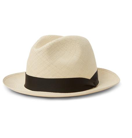 grosgrain-trimmed-straw-panama-hat by lock-&-co-hatters