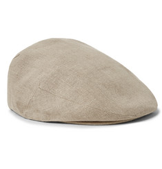 Lock & Co Hatters - Glen Linen Flat Cap