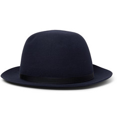 Lock & Co Hatters - Voyager Grosgrain-Trimmed Rabbit-Felt Trilby Hat