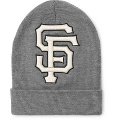 Gucci + San Francisco Giants Logo-Appliquéd Wool Beanie