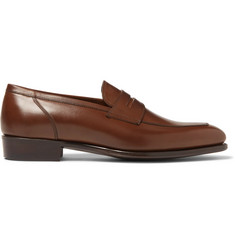 Kingsman + George Cleverley Newport Leather Penny Loafers