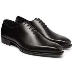 Kingsman - + George Cleverley Merlin Whole-Cut Leather Oxford Shoes