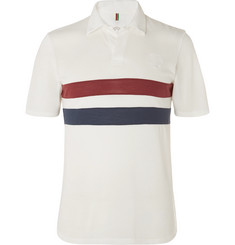 Iffley Road Bracknell Slim-Fit Striped Drirelease Piqué Polo Shirt