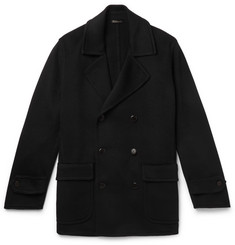 Rubinacci - Double-Breasted Cashmere Peacoat