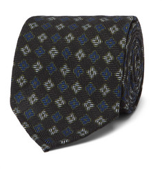 Rubinacci - 8cm Floral Wool and Silk-Blend Jacquard Tie