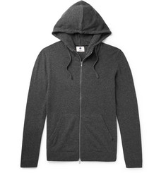 NN07 - Wool-Blend Zip-Up Hoodie