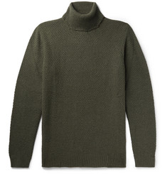 NN07 - Pearl Slim-Fit Knitted Rollneck Sweater