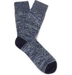 NN07 - Mélange Cotton-Blend Socks