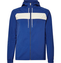 Tracksmith Logan Embroidered Schoeller Hooded Jacket