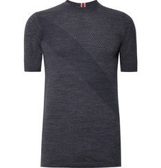 Tracksmith Brighton Wool-Blend Base-Layer T-Shirt