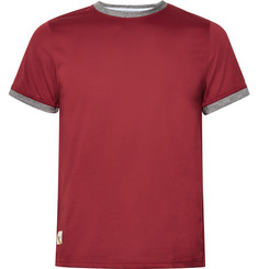 Tracksmith Towne Cotton-Blend Jersey T-Shirt