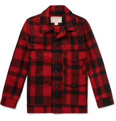 Filson Checked Virgin Wool Overshirt