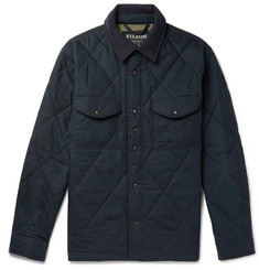 Filson Hyder Quilted Waxed-Cotton Primaloft Jacket