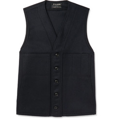 Filson Mackinaw Virgin Wool Gilet
