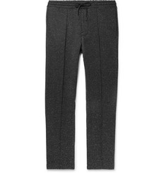 Club Monaco Tapered Mélange Stretch-Jersey Sweatpants