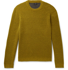 Club Monaco Stretch Wool-Blend Bouclé Sweater