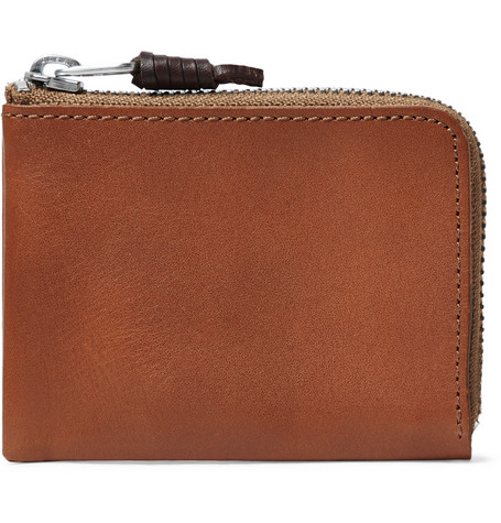 Leather Zip Around Wallet by J.Crew