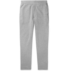 The Row LA Slim-Fit Fleece-Back Cotton-Jersey Sweatpants