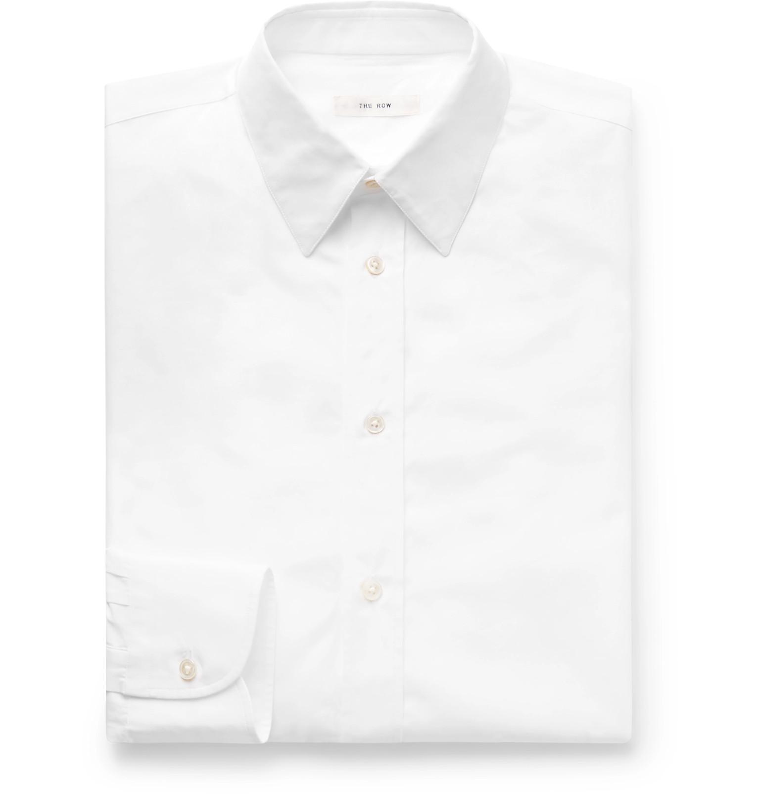The Row Ahmet Sea Island Cotton Poplin Shirt