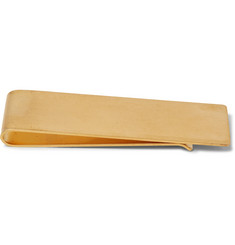The Row Engraved Gold-Tone Money Clip