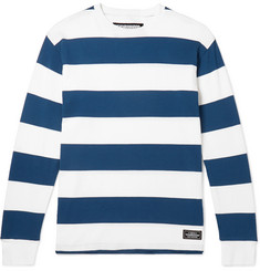Neighborhood - Striped Cotton-Jersey T-Shirt