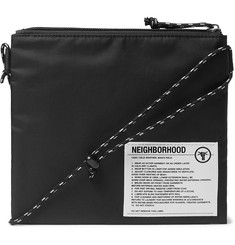Neighborhood Sacoche Nylon Messenger Bag