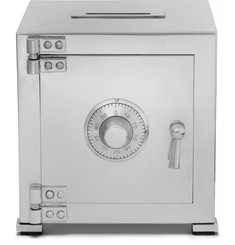 Asprey - Sterling Silver Combination Safe Money Bank