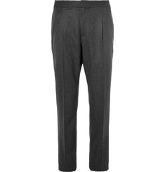 Officine Generale Wool-Flannel Drawstring Trousers