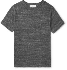Officine Generale Mélange Cotton-Blend Jersey T-Shirt
