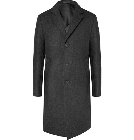 Slim Fit Wool Overcoat by Officine Generale