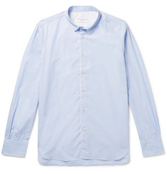 Officine Generale Piped Cotton Shirt