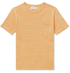 Officine Generale Mélange Slub Cotton-Blend Jersey T-Shirt