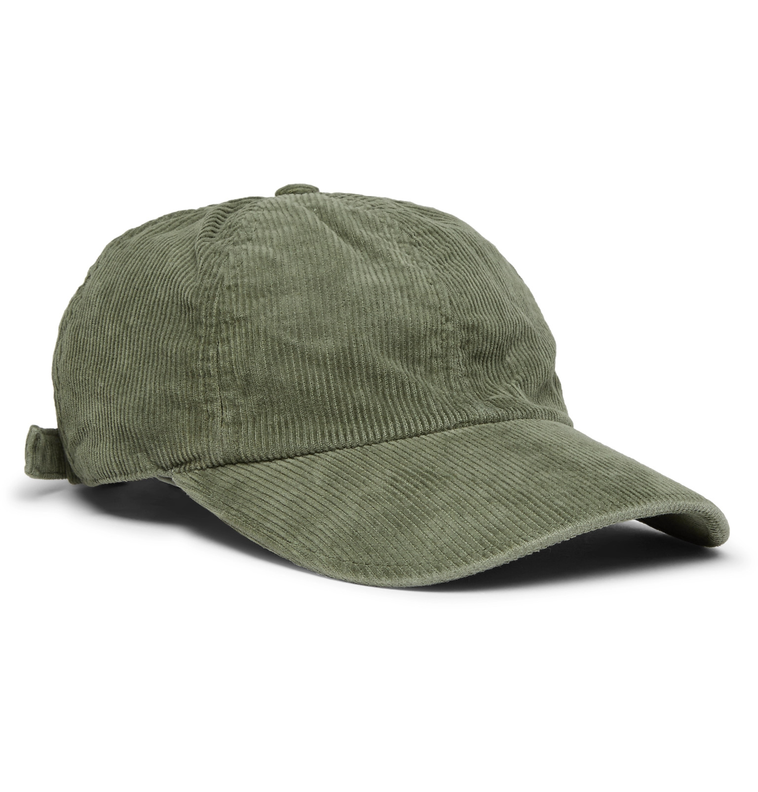 32abad08935 Officine Generale - Cotton-Corduroy Baseball Cap