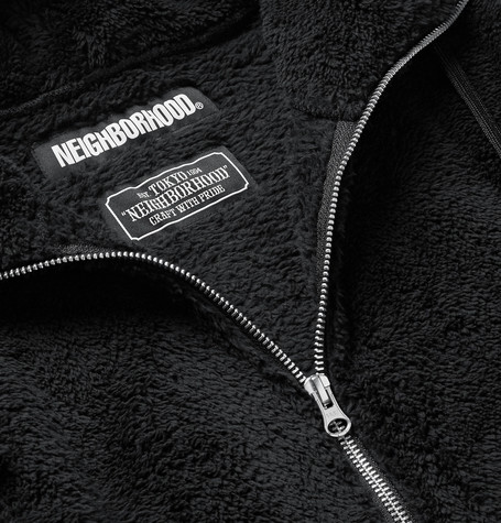 Fleece Zip Up Hoodie by Neighborhood