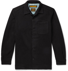 Neighborhood Fleece-Back Jersey Overshirt