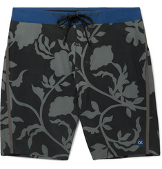 Outerknown Long-Length Printed Swim Shorts