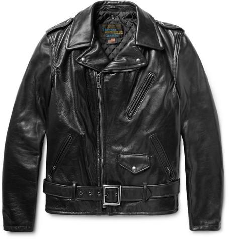 SCHOTT Perfecto Slim-Fit Leather Biker Jacket