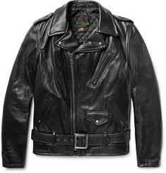 Schott Perfecto Slim-Fit Leather Biker Jacket