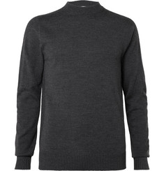 Officine Generale Bruce Slim-Fit Merino Wool Sweater